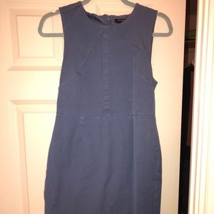 Grey/blue Banana republic dress